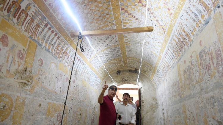 Work Of Hungarian Archeologists Recognised In Egypt