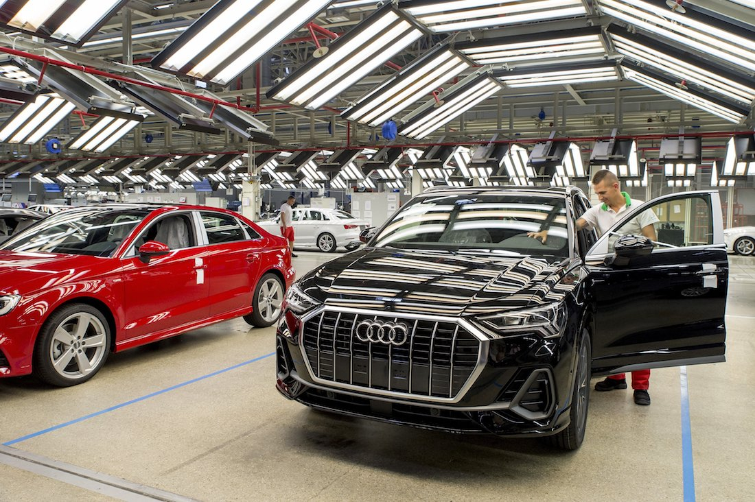 Audi Restarts Vehicle Production At Hungary Base