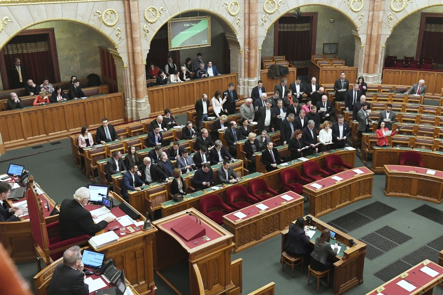 Special Session In Hungarian Parliament Lacks Quorum