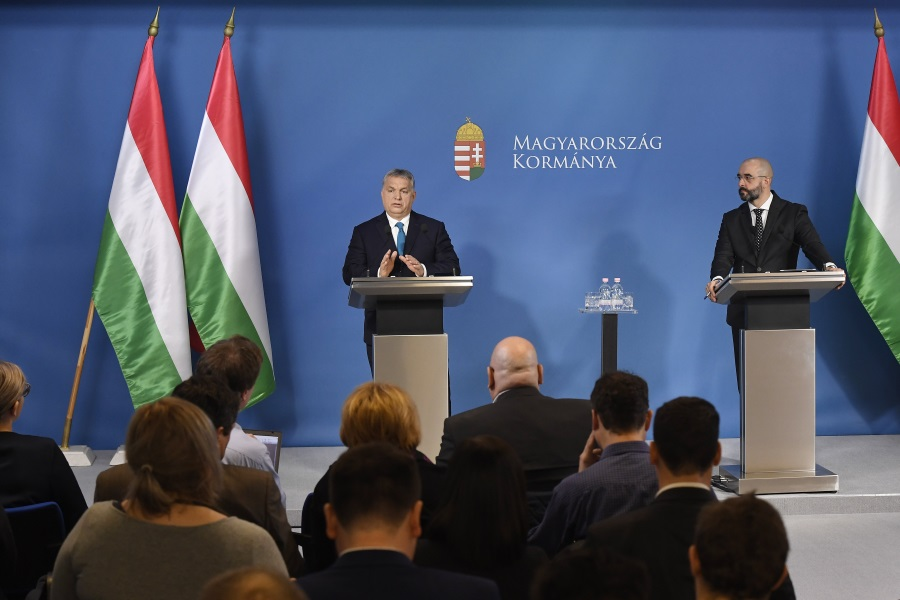 Video: Hungary's PM Calls For 'Anti-Immigrant Forces' To Take Over EU