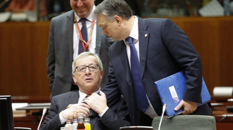 Video: EU-Hungary Spat Continues With New Ad Against EU's Juncker