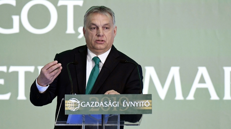 PM Orbán Outlines  Hungarian Economic Model