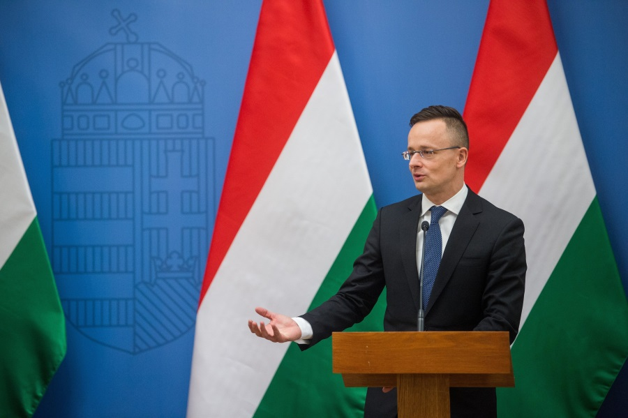 Video: Hungarian FM: 'We Are Not Worried' About EU Fund Cut Threat