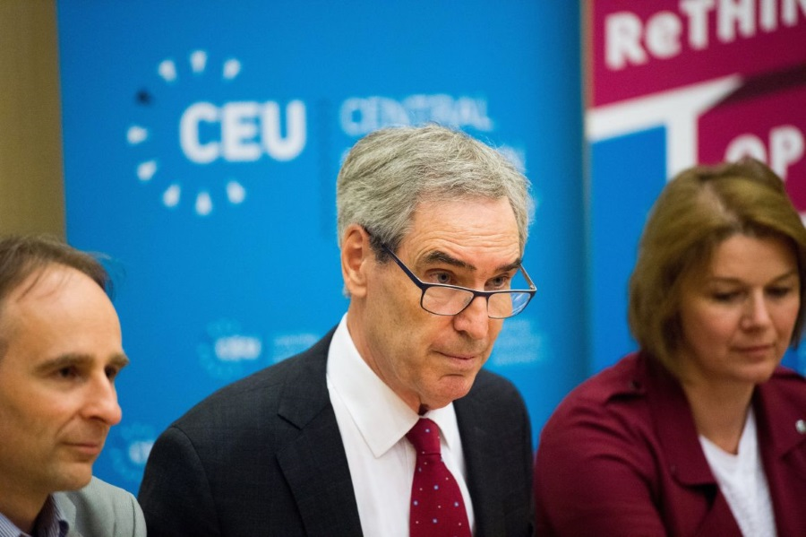 Rector Ignatieff: CEU Staying In Budapest