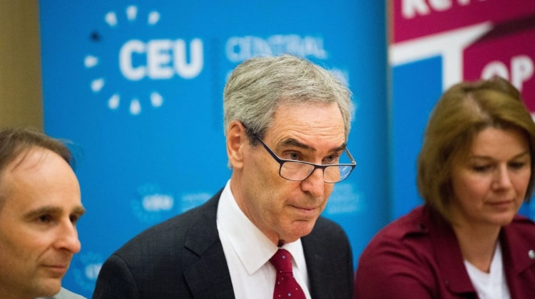 CEU Budapest Rector Wins Dan David Prize For 'Defending Democracy'