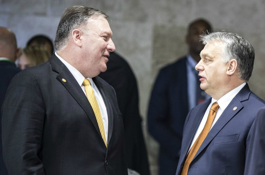 Huawei On Agenda Of Pompeo-Orbán Meeting In Hungary