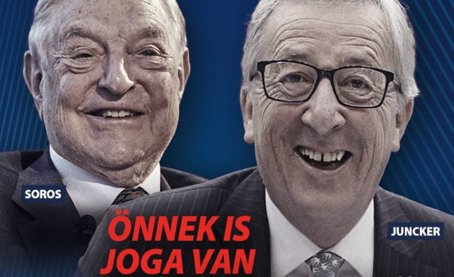 Video: Controversy Over Hungary's New Ad Against EU, Juncker & Soros