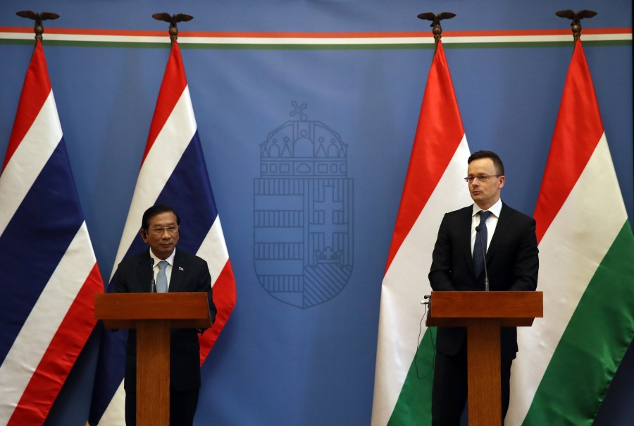 Increased Cooperation With Thailand In Hungary's Interest
