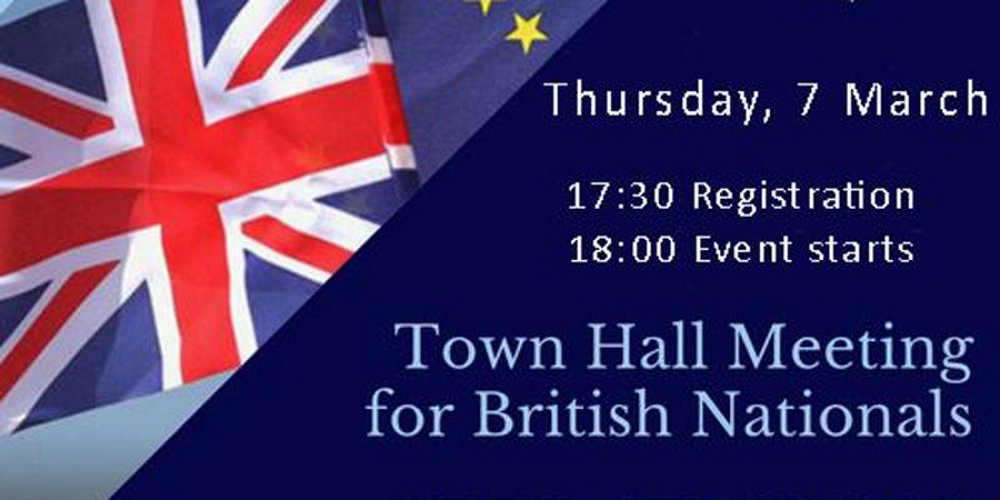 New Brexit Town Hall Meeting For British Nationals In Hungary @ Budapest Marriott