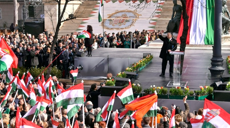 Video: PM Orbán Calls For Protecting Christian Culture On Hungary's National Holiday