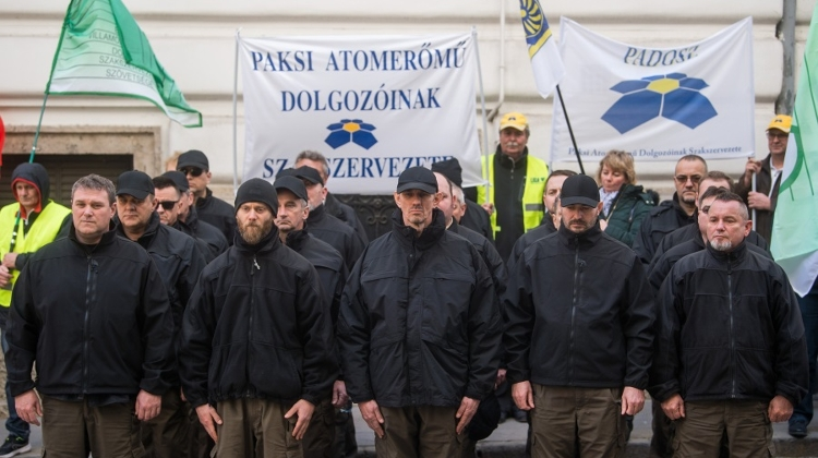 Two-Hour Warning Strike Held At Paks Nuclear Power Plant In Hungary