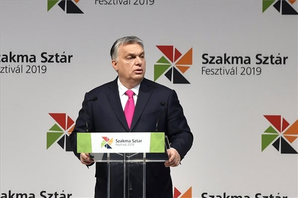 PM Orbán Opens Festival Of Vocational Training Schools In Budapest
