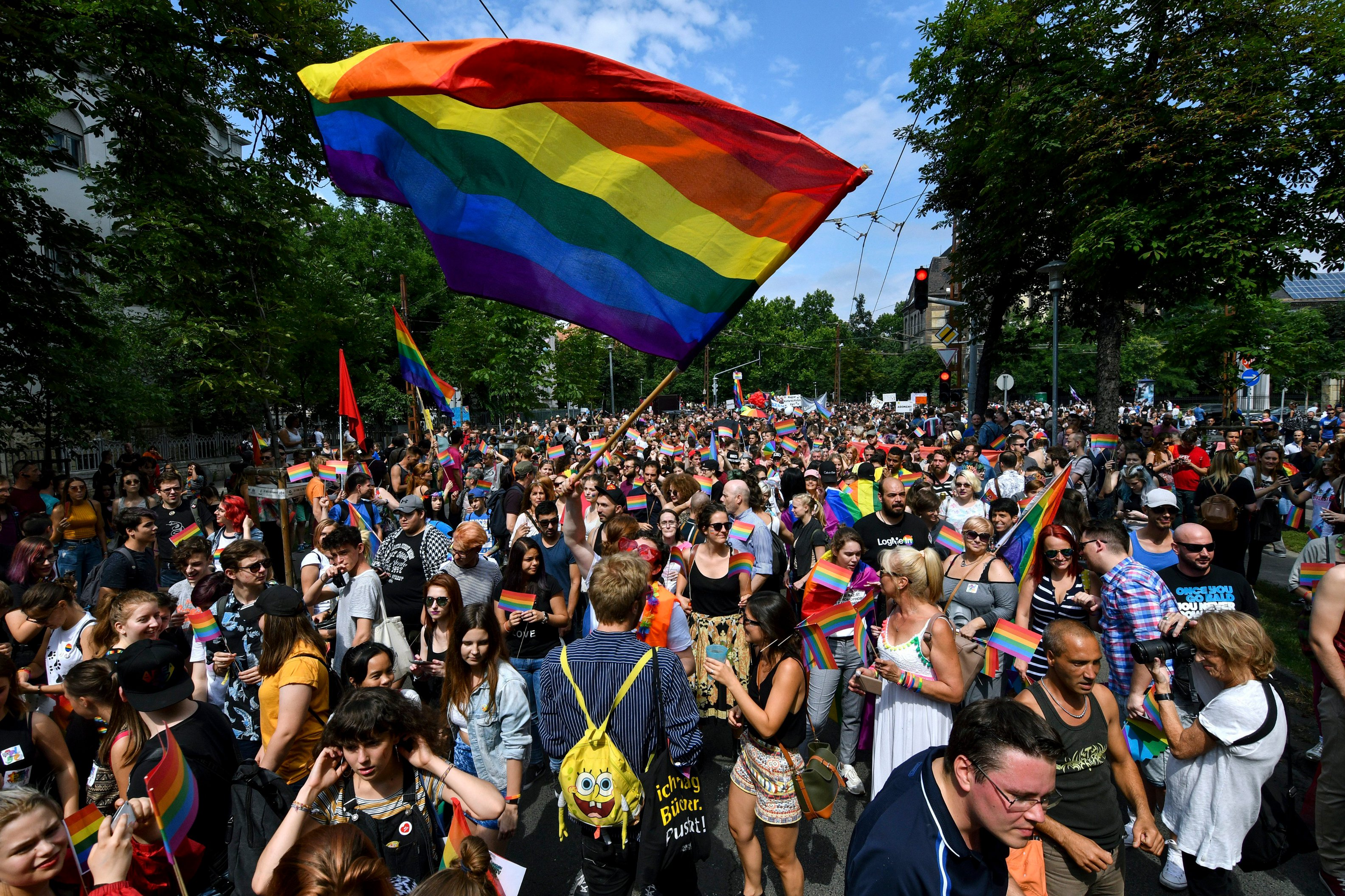 Police Plan To Fence Off Budapest Pride Parade