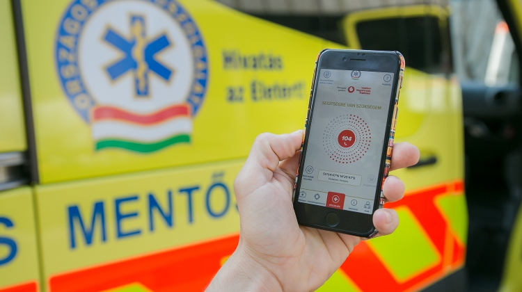 Hungarian Ambulance Service Launches New App Making Emergency Calls Simpler