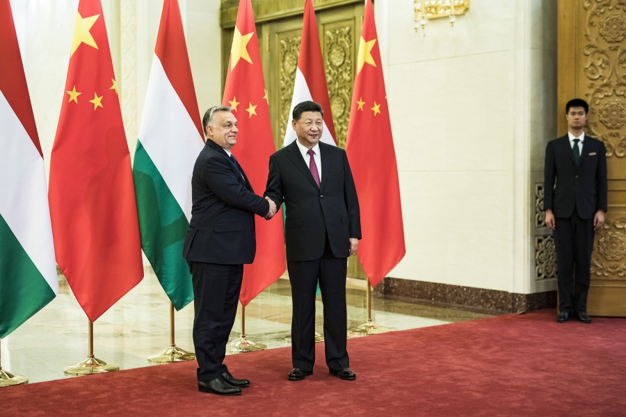 PM Orbán Praises Belt & Road Initiative