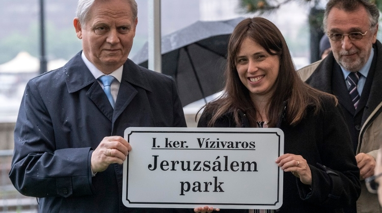 Jerusalem Park In Budapest Officially Inaugurated