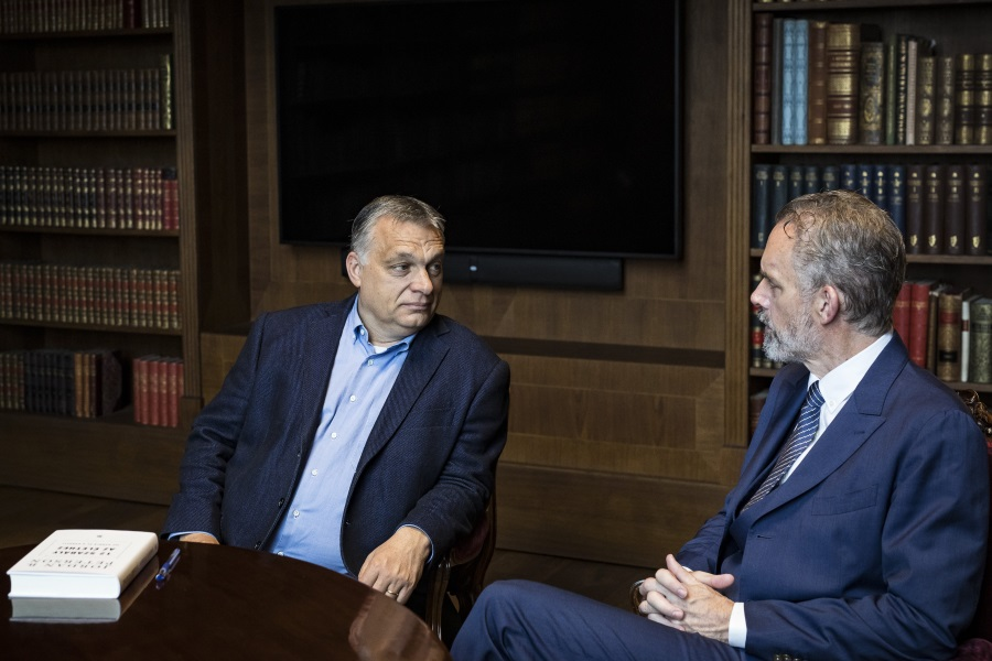 PM Orbán Meets Jordan Peterson In Budapest