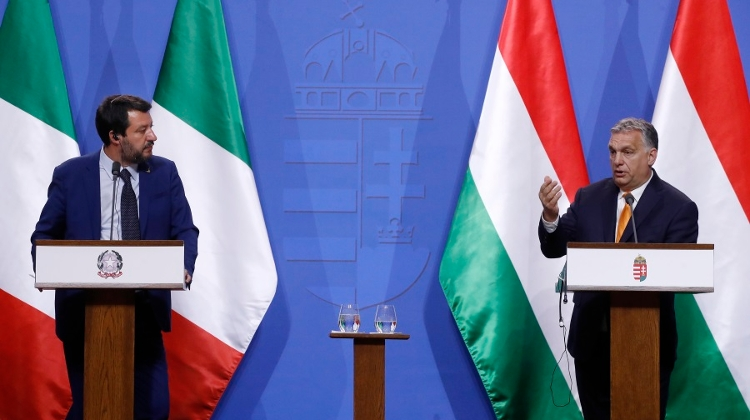 PM Orbán Meeting Right Wing Salvini, Morawiecki In Budapest Today