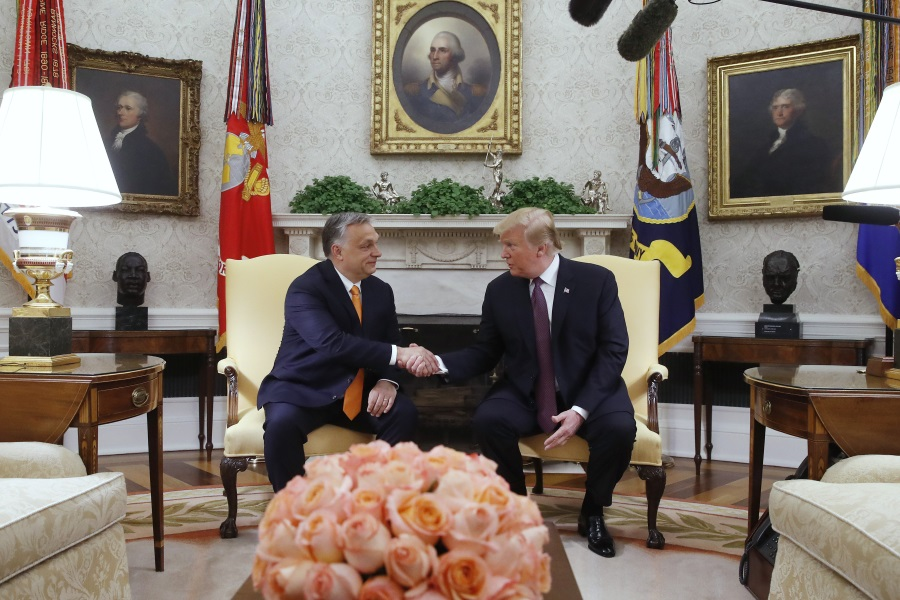 Video: PM Orbán Meets Trump At White House
