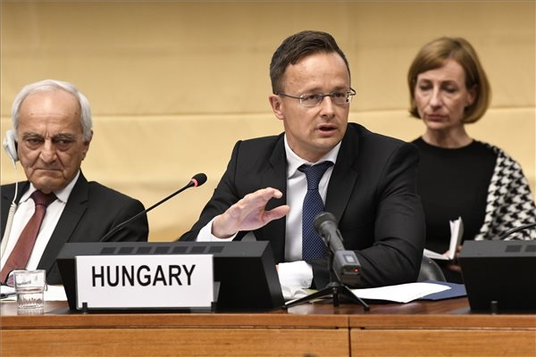 Hungary's Foreign Minister Says UN Official 'Defending Terrorist'