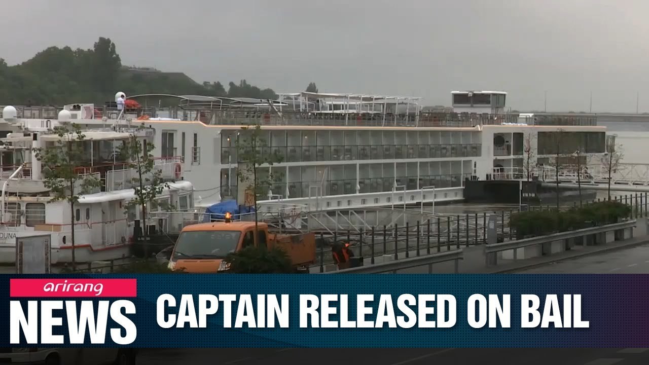 Video: Arrested Captain In Danube Boat Tragedy Released On Bail