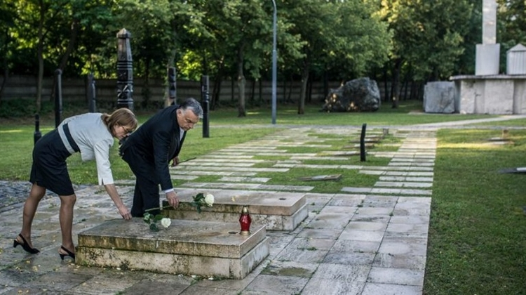 PM Orbán Pays Tribute To Martyred 1956 Hungarian Prime Minister