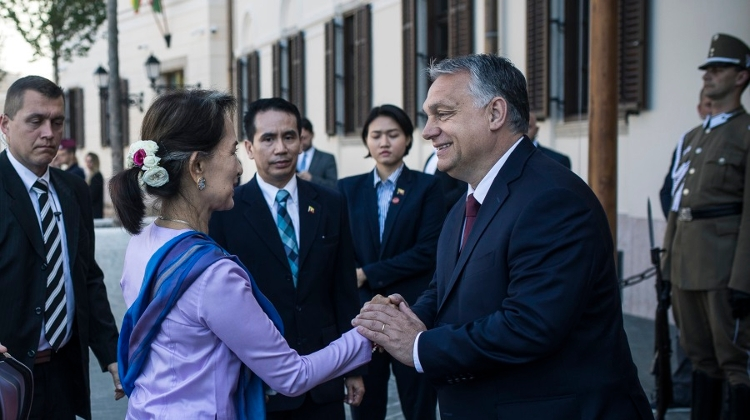PM Orbán Held Meetings With State Counsellor Of Myanmar