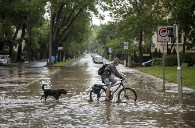 Rainfall Record In Hungary Almost Doubled