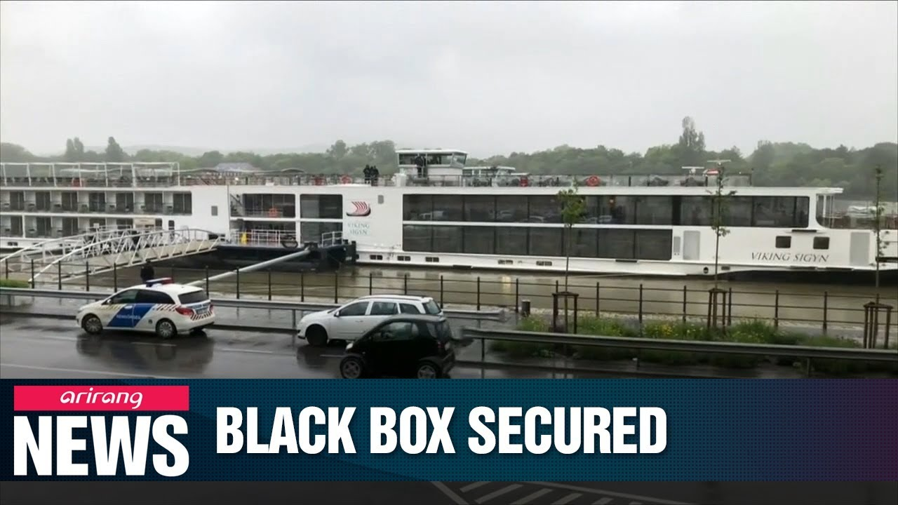 Video: Police Secured Black Box Of Viking Sigyn Involved In Budapest Boat Tragedy