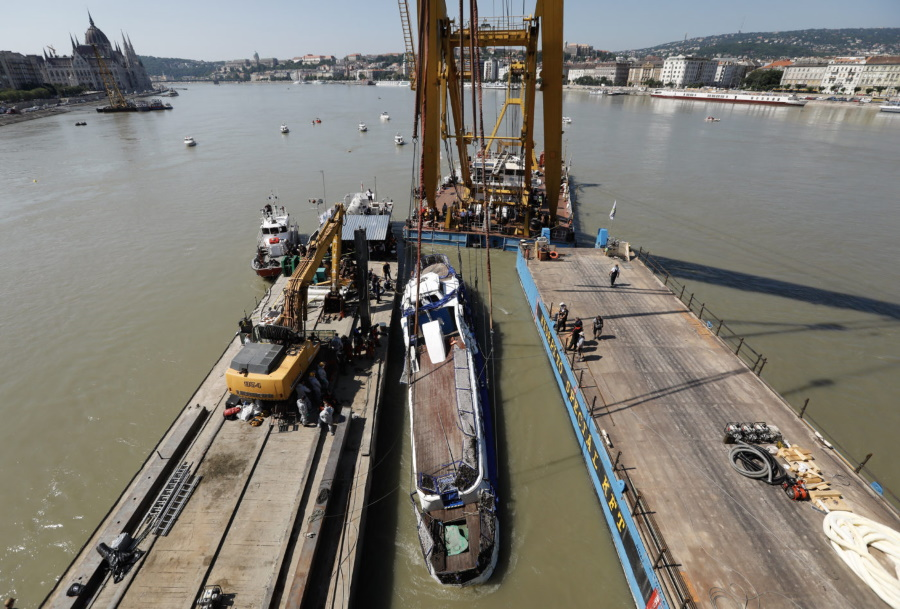 Hableány Salvage & Budapest Boat Tragedy Operation Cost EUR 2 Million