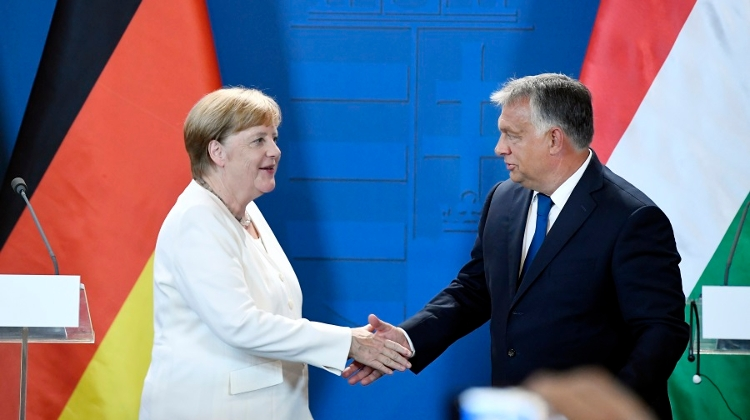 PM Orbán Calls For Stronger Hungarian-German Economic Ties After Meeting With Merkel