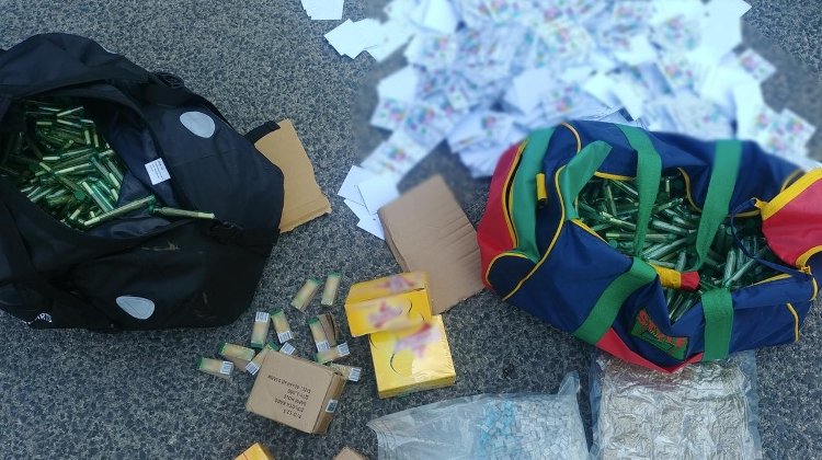 Video: Police Make Biggest Drug Haul In Sziget History