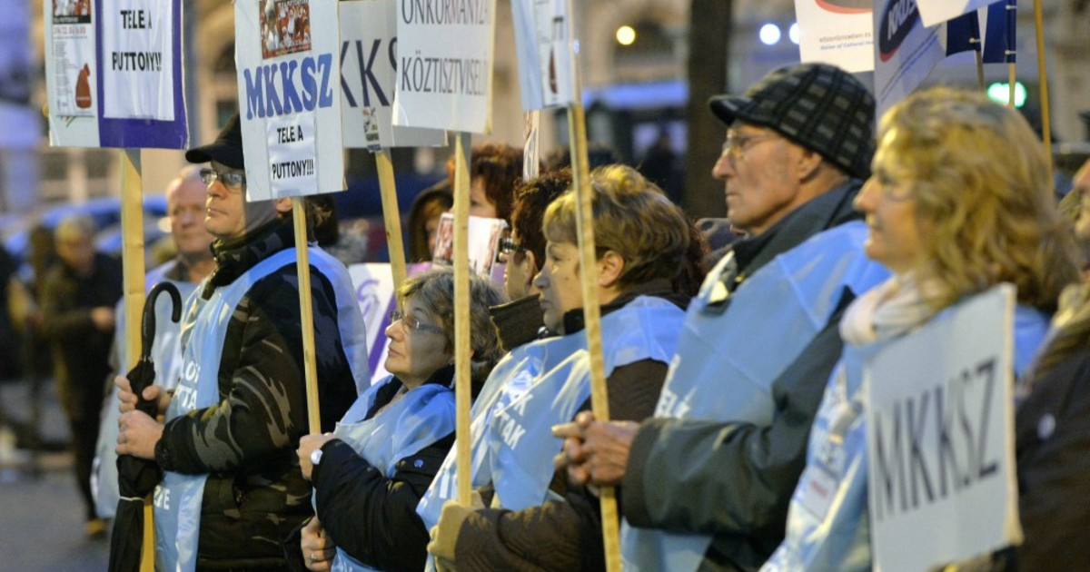 Hungarian Public Workers' Unions Call Nationwide Strike For Oct 10