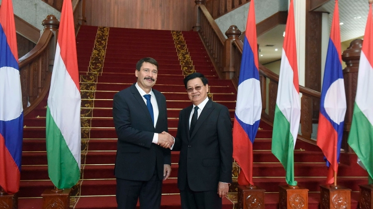 Video: Hungarian President Visits Laos To Strengthen Friendship & Cooperation