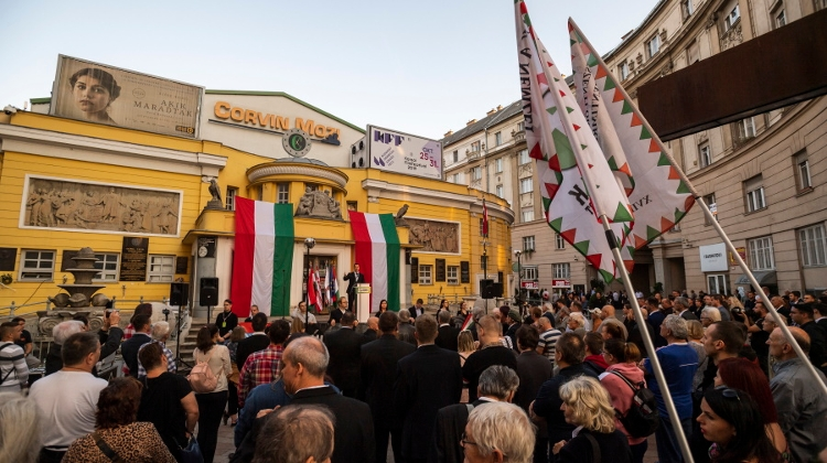 Hungarian Opposition Marks Anniversary Of 1956 Uprising