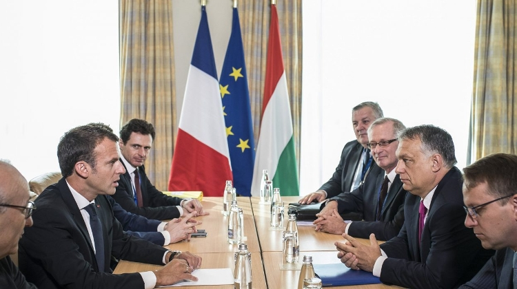 Hungarian PM Orban To Meet  French President Macron In Paris On Friday
