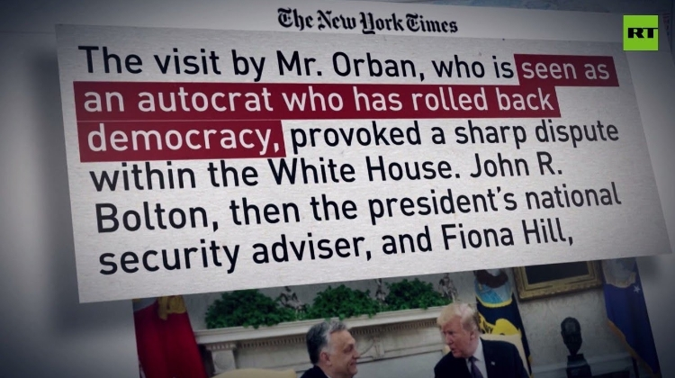 Video: Media Target PM Orbán For Alleged Influence On Trump