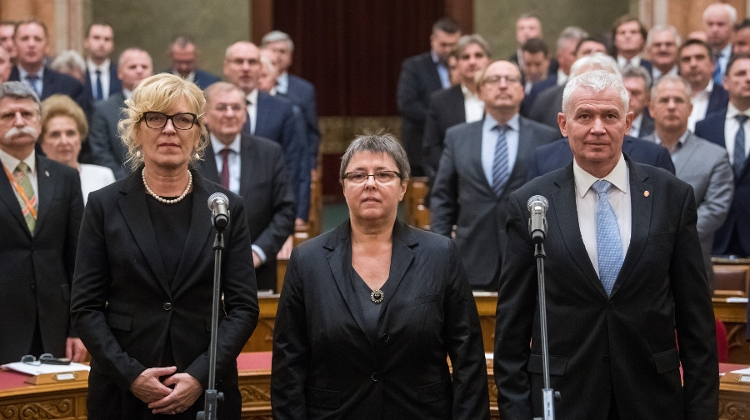 Polt Re-Elected Chief Public Prosecutor, Handó Appointed Constitutional Judge In Hungary
