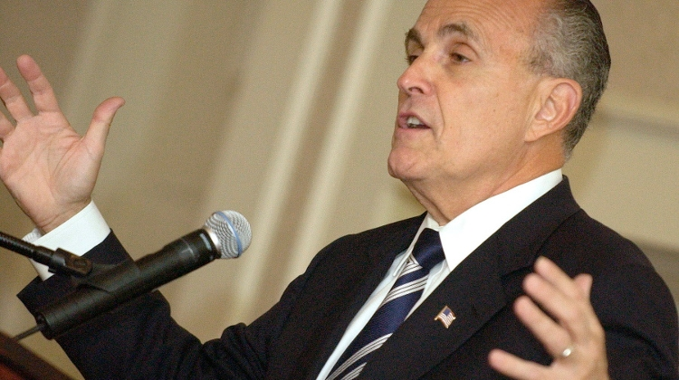 Giuliani Visits Budapest, Seeking To Discredit Impeachment