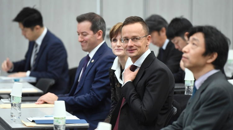 FM Szijjártó: Hungary-Japan Relations At 'All-Time High'