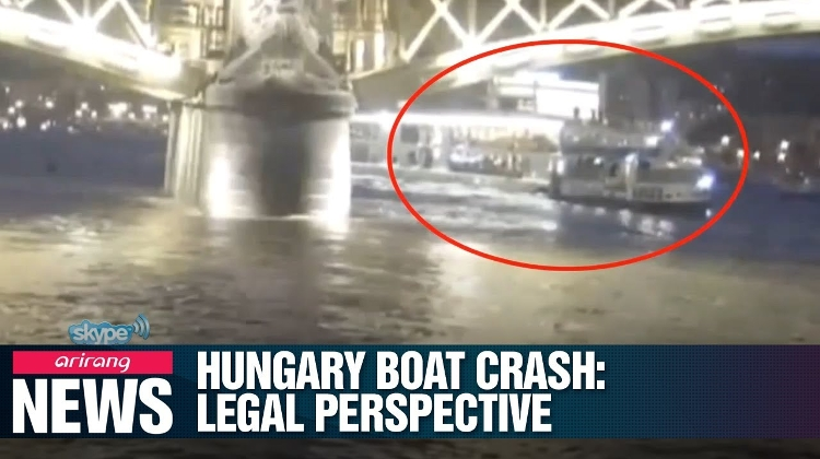 Video: Korean TV Raises Legal Questions Concerning Budapest Boat Crash Tragedy