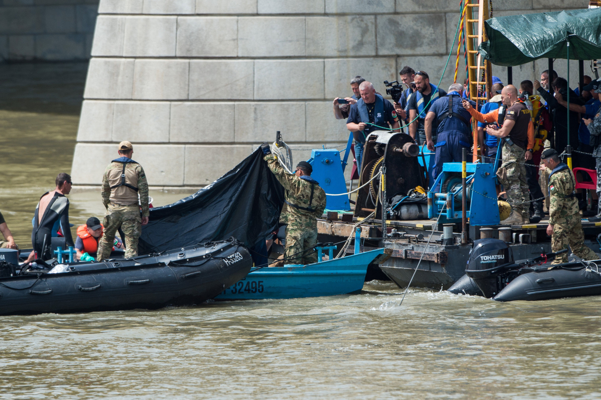 Video: Another Two Victims Of Budapest Ship Collision Found