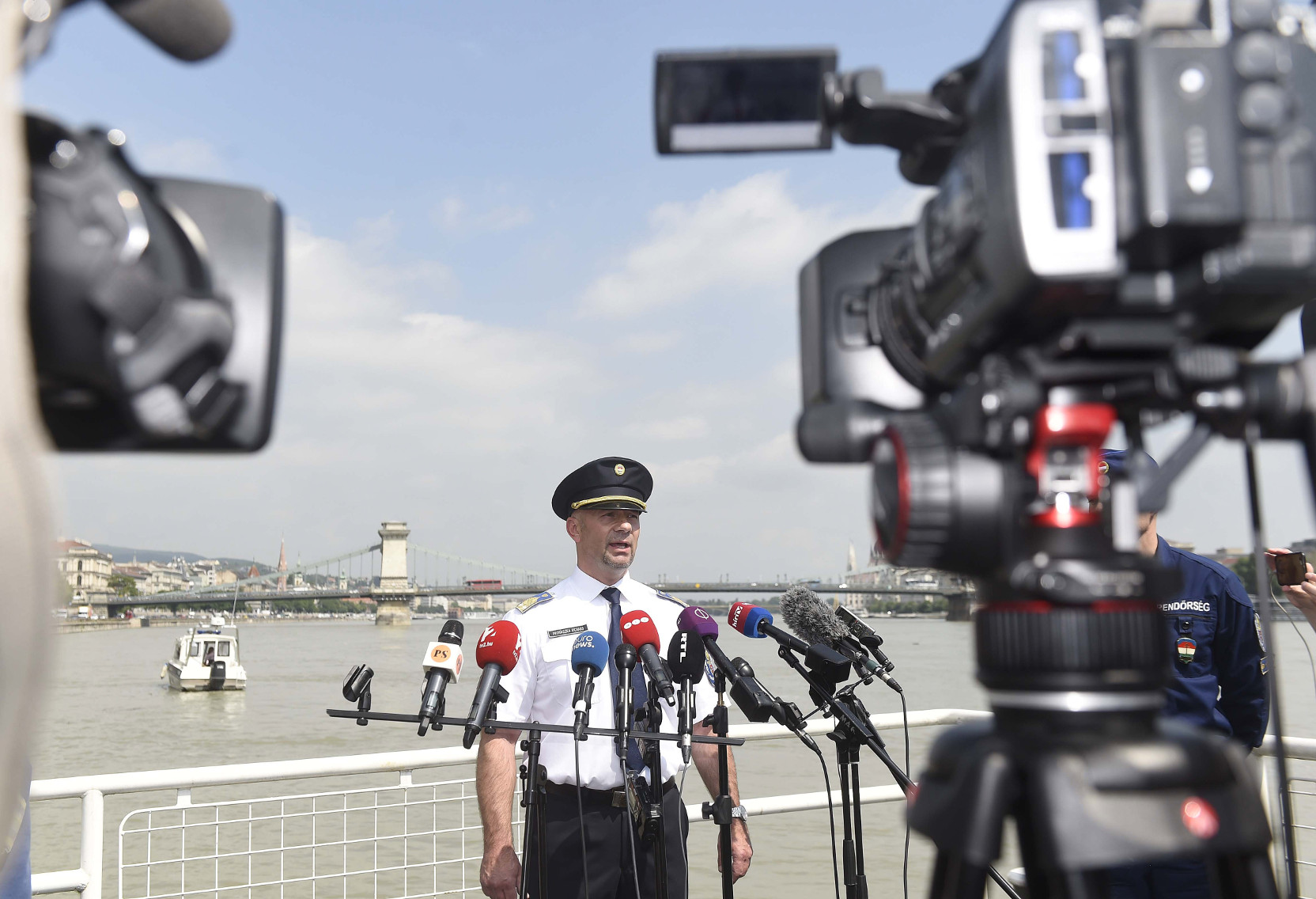 Video: Police Reveal Details Of Investigation Into Danube Boat Tragedy