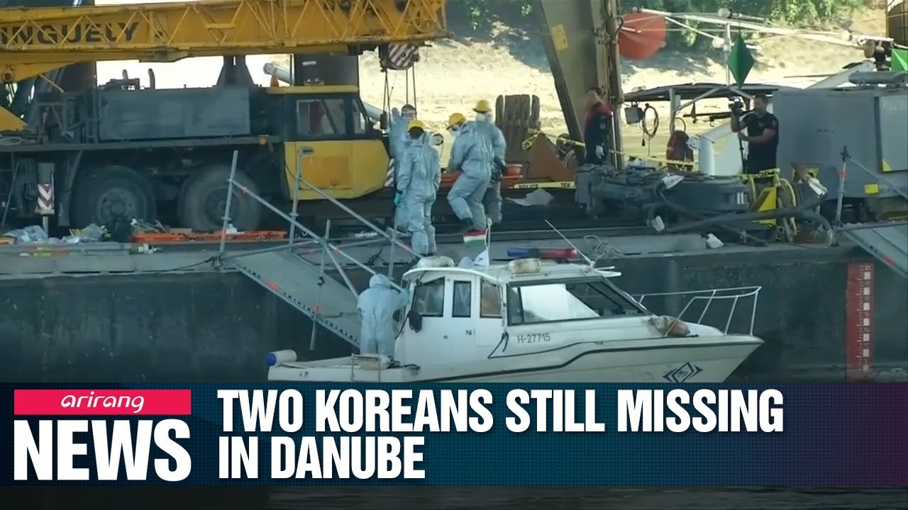 Video: Thirty Days After Danube Tour Boat Sinking, Two Koreans Still Missing