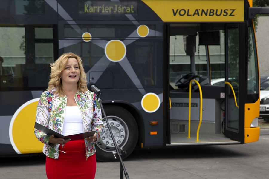 Volánbusz Recruiting Drivers With Special Festival Bus In Hungary