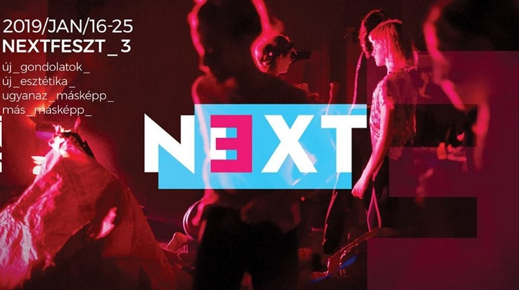 NextFest @ Trafó, 16 – 25 January