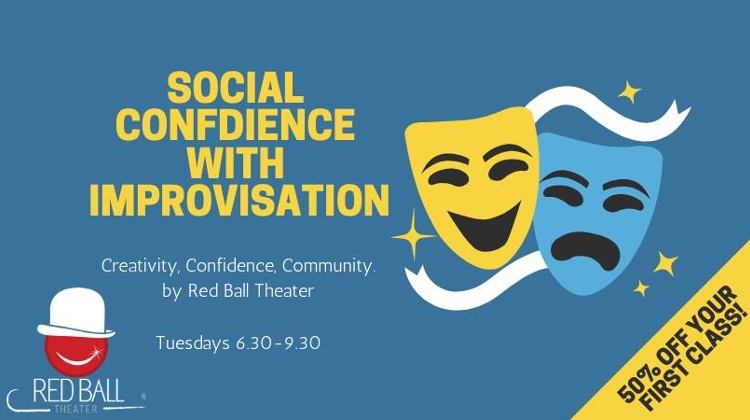 'Social Confidence With Improvisation', Puder Bar Budapest, 19 January