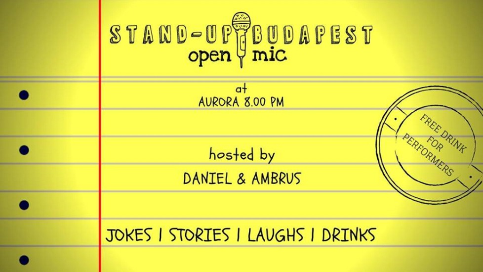 Stand-Up Budapest Open Mic