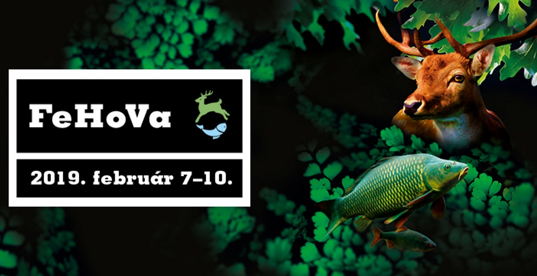 International Hunting & Fishing Fair, Budapest Hungexpo, 7 – 10 February
