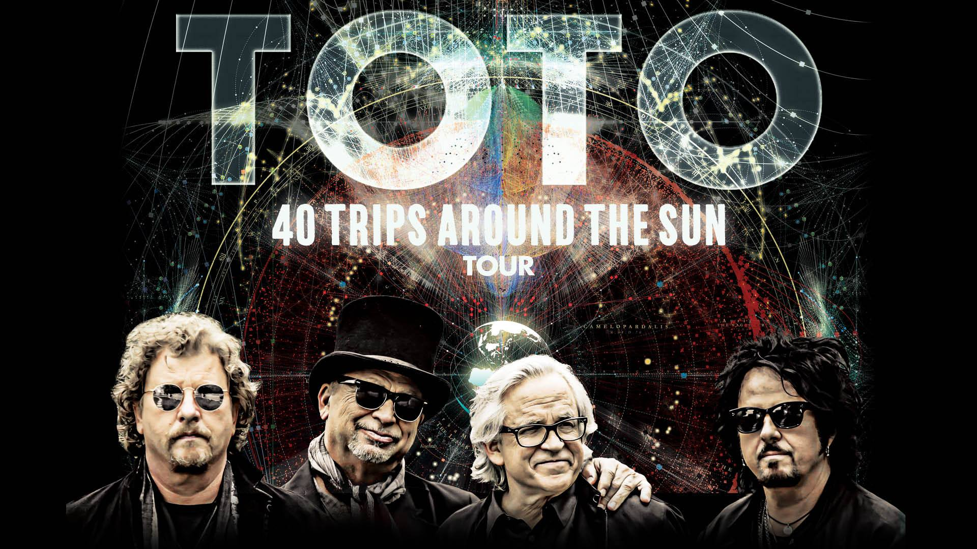 Toto: '40 Trips Around The Sun' Tour, Budapest Aréna, 27 June
